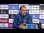 Rueda de prensa de Eloy Jiménez tras el Extremadura UD vs CD Lugo (0-0)
