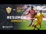 Resumen de UD Almería vs AD Alcorcón (0-0)