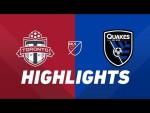 Toronto FC vs. San Jose Earthquakes | HIGHLIGHTS - May 26, 2019