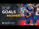 TOP 5 Goles de Tacón LaLiga Santander 2018/2019