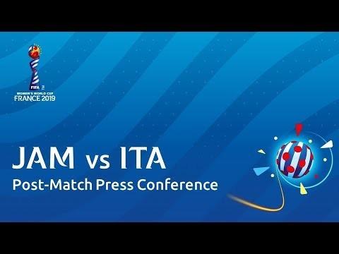 JAM v. ITA - Post-Match Press Conference