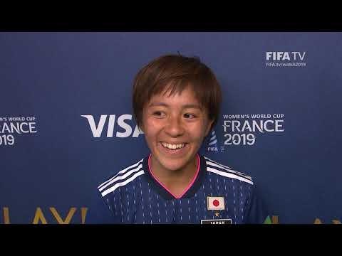 Mana Iwabuchi – Player of the Match – Japan v Scotland