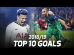 Top 10 Tottenham Hotspur goals of the 2018/19 season!
