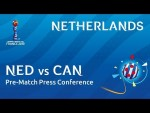 NED v. CAN - Netherlands - Pre-Match Press Conference