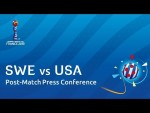 SWE v. USA - Sweden - Pre-Match Press Conference