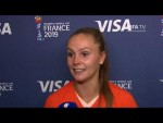 Lieke Martens – Player of the Match – Netherlands v Japan
