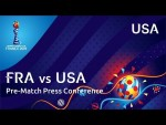 FRA v. USA - USA Pre-Match Press Conference