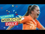 Martens double sees the Oranje through | Women's World Cup Daily
