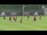 Real Madrid's seventh training day in Montreal!