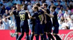 Kroos piledriver helps Madrid win at Celta but Modric sees red