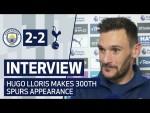 INTERVIEW   HUGO LLORIS ON 300TH SPURS APPEARANCE   Man City 2-2 Spurs