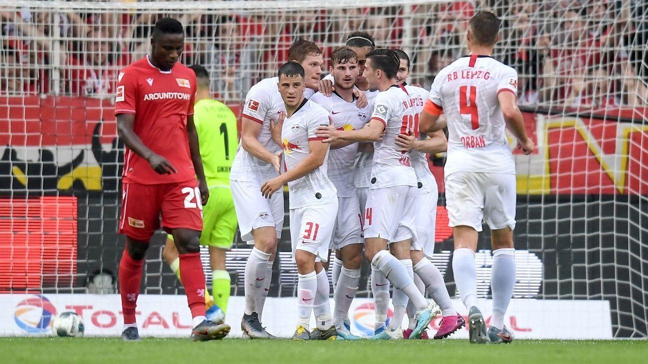 Leipzig spoil promoted Union's Bundesliga debut