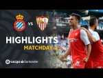 Highlights RCD Espanyol vs Sevilla FC (0-2)