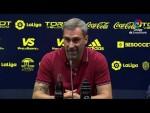 Rueda de prensa de Jon Pérez Bolo tras el Cádiz CF vs SD Ponferradina (3-1)