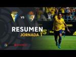 Resumen de Cádiz CF vs SD Ponferradina (3-1)