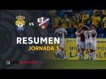 Resumen de UD Las Palmas vs SD Huesca (0-1)