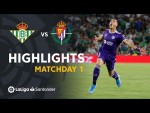 Highlights Real Betis vs Real Valladolid (1-2)