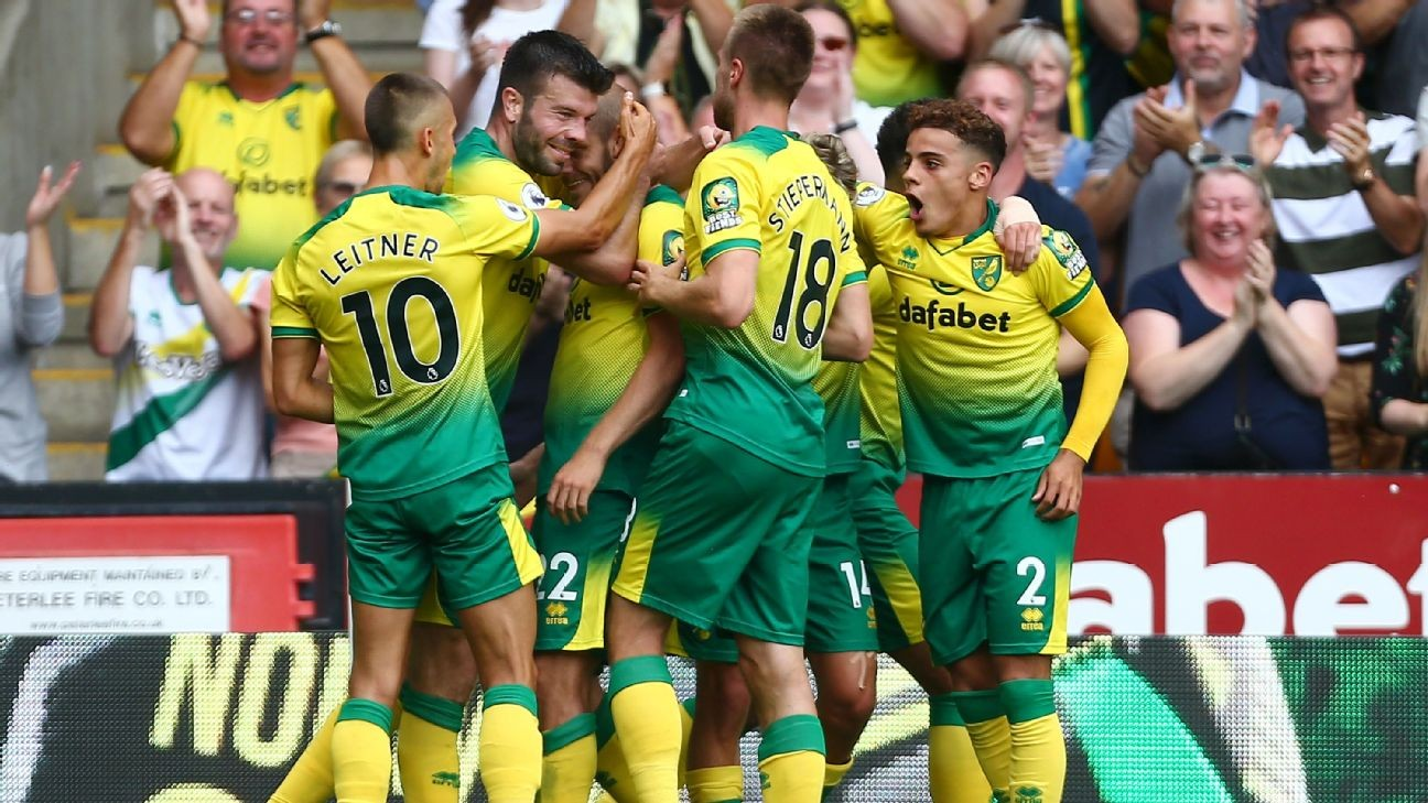 Pukki stars for Norwich; City suffer VAR woes again