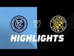 NYCFC vs. Columbus Crew | HIGHLIGHTS - August 21, 2019