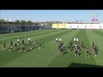 Real Madrid training session ahead of facing Real Valladolid