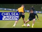 Hudson-Odoi back in training💪 Barkley megs Mount👀 | Chelsea Unseen