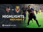 Highlights Levante UD vs Villarreal CF (2-1)