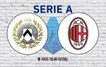 Udinese v AC Milan: Official Line-Ups