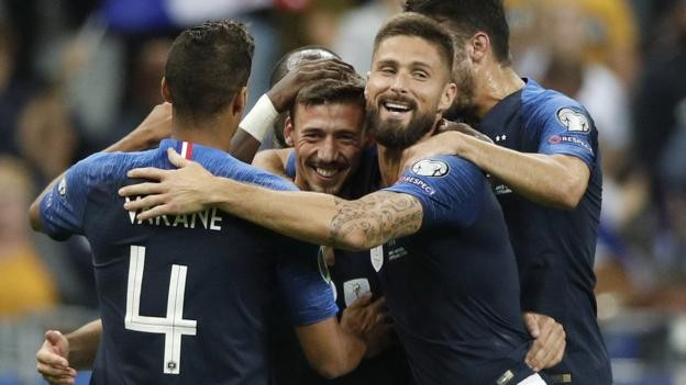 France beat Andorra despite Antoine Griezmann penalty miss