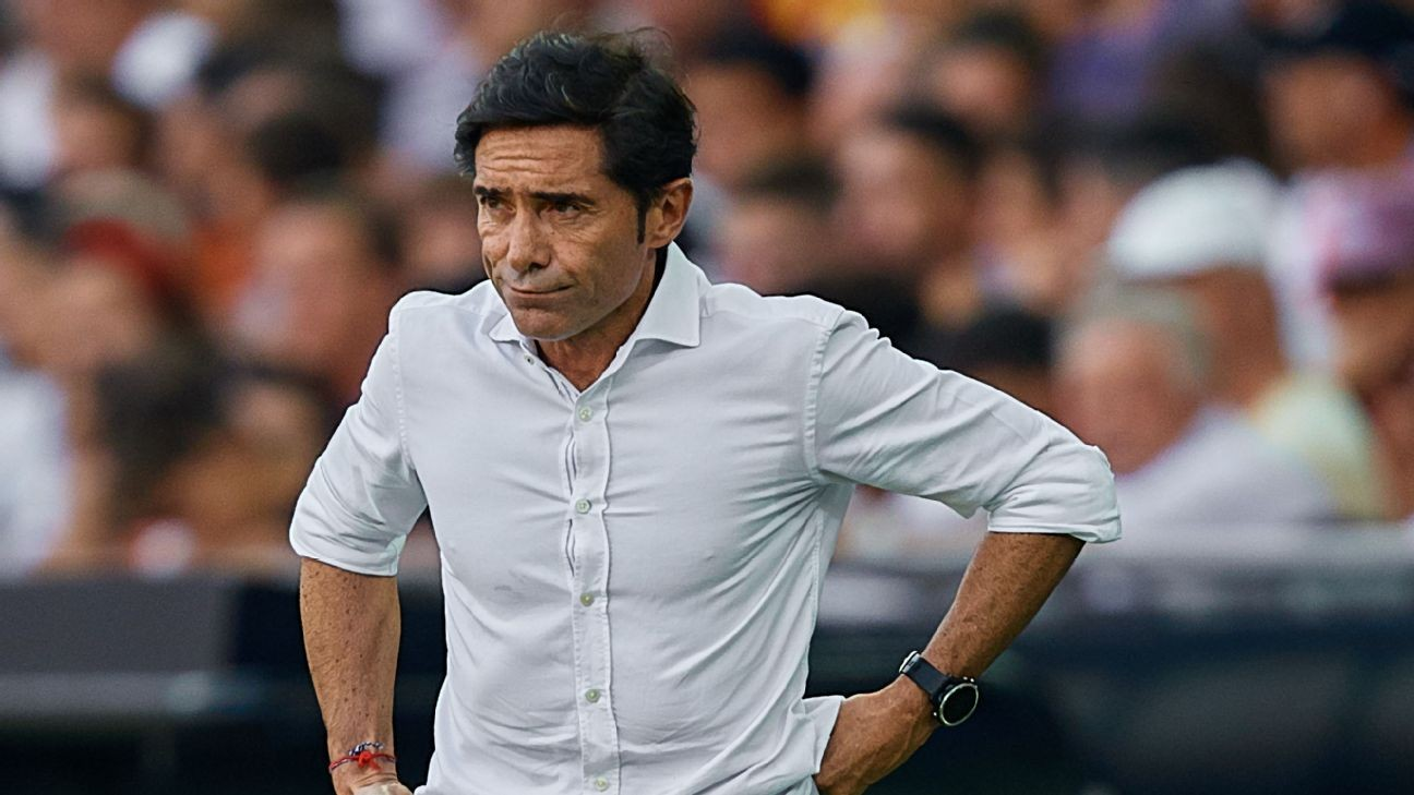 Valencia sack Marcelino 4 months after Copa win