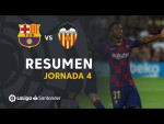 Resumen de FC Barcelona vs Valencia CF (5-2)