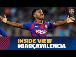 [BEHIND THE SCENES] Barça 5-2 Valencia from the inside