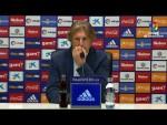 Rueda de prensa de  Sergio Egea tras el Real Oviedo vs Elche CF (0-2)