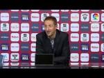 Rueda de prensa de Luis Miguel Ramis tras el Albacete BP vs CD Tenerife (0-4)