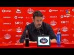 Rueda de prensa de  Baldomero Hermoso tras el CD Lugo vs CF Fuenlabrada (2-0)