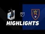 Minnesota United FC vs. Real Salt Lake | HIGHLIGHTS - September 15, 2019