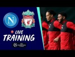 Training: Reds train ahead of Champions League opener at Napoli
