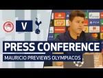 PRESS CONFERENCE | MAURICIO POCHETTINO PREVIEWS OLYMPIACOS