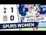 SPURS 1-0 LIVERPOOL | FAWSL HIGHLIGHTS