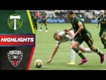 Portland Timbers 0-1 D.C. United | Crazy goal line clearance decides the game! | HIGHLIGHTS
