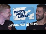 100m SPRINT RACE?! | WHO'S MOST LIKELY? | DE BRUYNE & BERNARDO SILVA