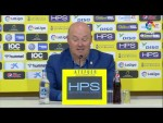 Rueda de prensa de  Pepe Mel tras el UD Las Palmas vs Real Sporting (1-0)