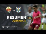 Resumen de Elche CF vs CD Tenerife (1-1)