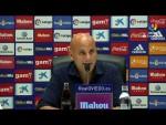 Rueda de prensa de  Javi Rozada tras el Real Oviedo vs Extremadura UD (1-1)