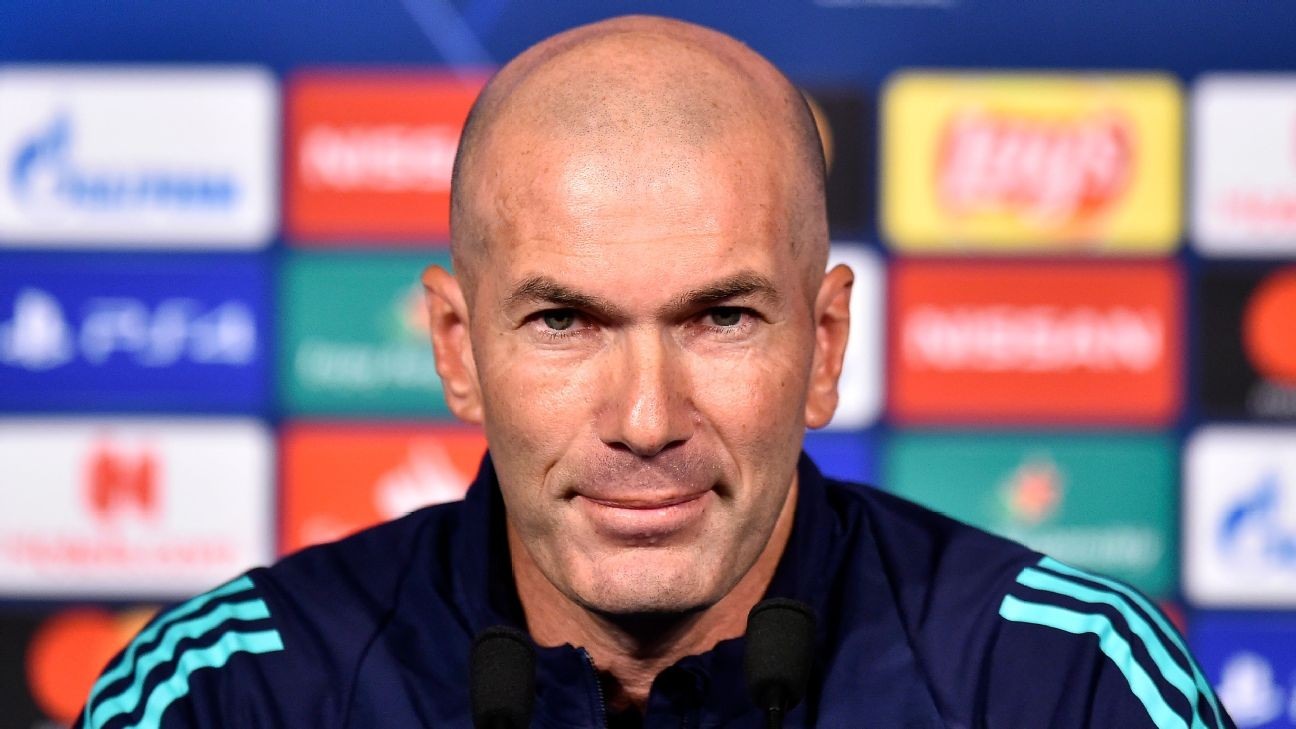 Sources: Zidane under pressure at Real Madrid