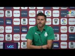 Rueda de prensa de Iván Ania tras el Albacete BP vs Real Racing Club (0-0)