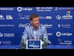 Rueda de prensa de Manuel Mosquera tras el Extremadura UD vs Elche CF (2-0)