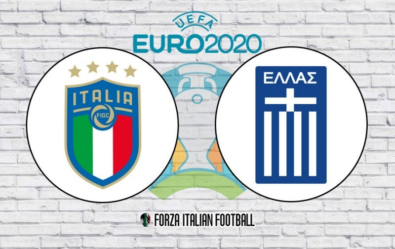 Euro 2020 Qualifiers LIVE: Italy v Greece