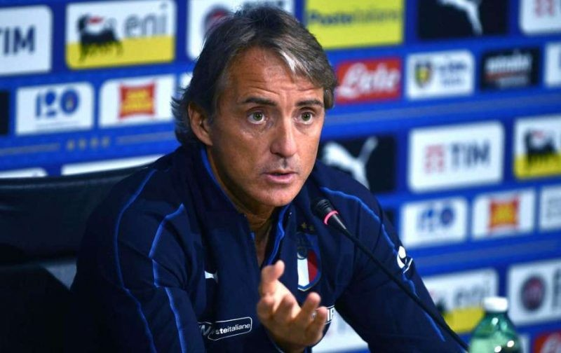 Mancini claims Italy aren't far off Europe's best