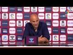 Rueda de prensa de Javier Rozada tras el Albacete BP vs Real Oviedo (1-2)