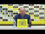 Rueda de prensa de Pepe Mel tras el UD Las Palmas vs RC Deportivo (3-0)